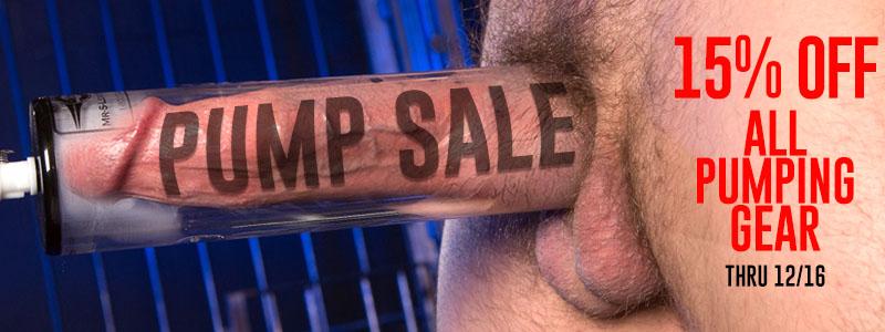 PUMP SALE 15%