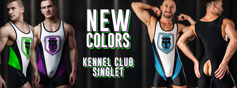 NEW COLORS FOR KENNEL CLUB SINGLETS