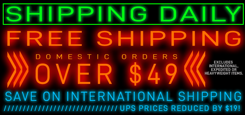 Free Shipping on Domestic Orders over $49